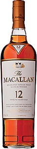 Macallan Scotch 12 Year